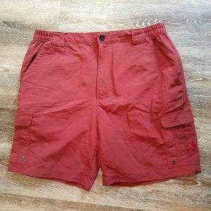 REEL LEGENDS Men's Shorts XL Rust